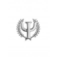 """Брошь """"ПСИ символ"""""""