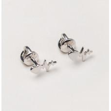 Серьги «Пульс»  (Серебро 925)